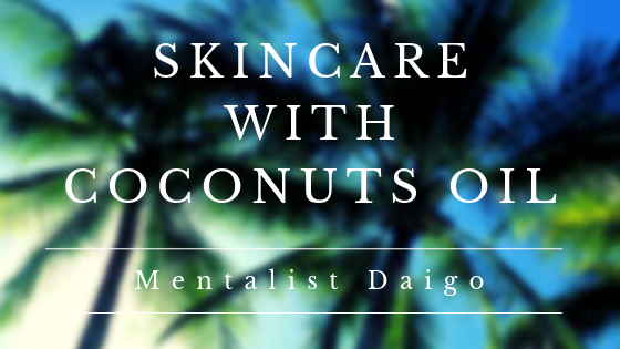 skincare by coconuts oil